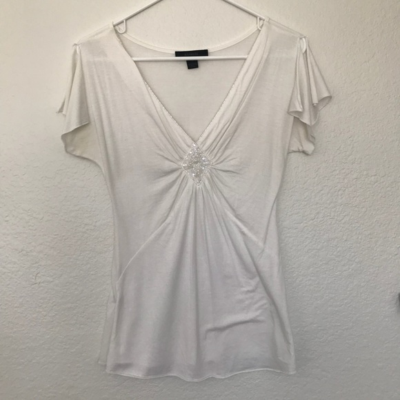 Express Tops - Express White Blouse Size Small